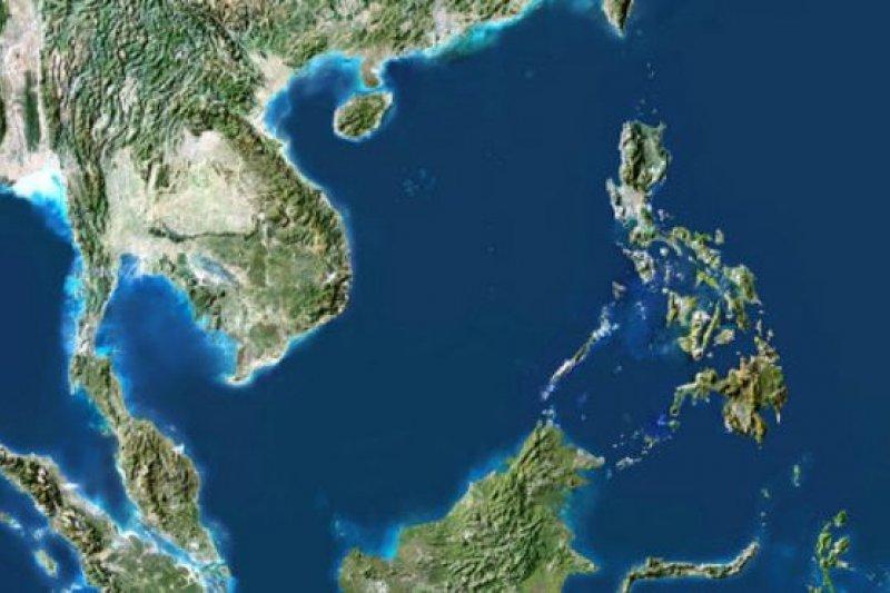 印尼和中國曾在位於南中國海西南端的納土納群島水域發生對峙。(BBC中文網)