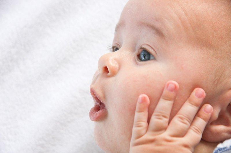 嬰兒肌膚比成人薄30%,需要細心呵護!(圖/amyelizabethquinn@pixabay)