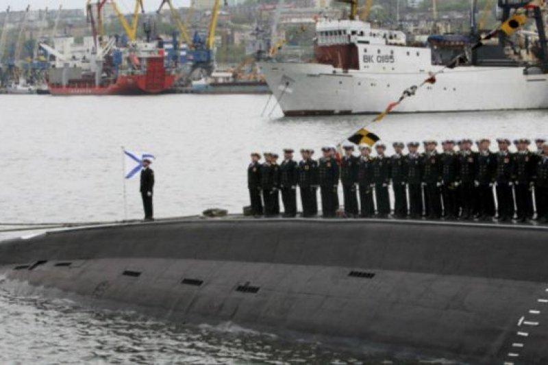 太平洋艦隊是俄羅斯海軍的四大艦隊之一,艦隊的司令部設在符拉迪沃斯托克市。(BBC中文網資料圖片)