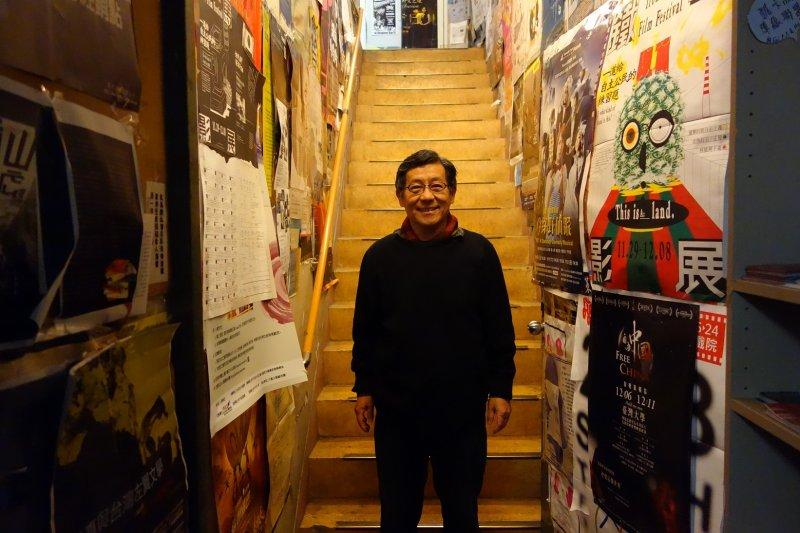 文化部在今天公布第40屆金鼎獎的得主,獲得最佳貢獻獎的是台灣獨立書店文化協會理事長陳隆昊。(唐山書店提供)