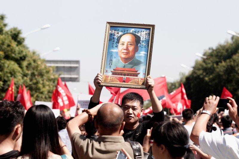 文化大革命與毛澤東,對中國社會影響深遠。(Getty Images)