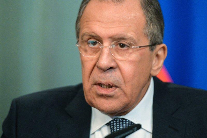 俄羅斯外交部部長拉夫羅夫。(俄羅斯衛星網)