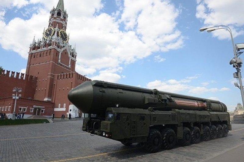 俄軍最新型的亞爾斯(Yars)洲際彈道飛彈(北約代號SS-27 Mod 2)。