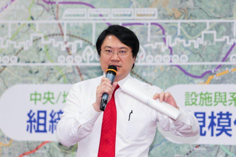 20160510-「首都圈論壇」首都圈捷運資源整合再發展.基隆市長林右昌(陳明仁攝)