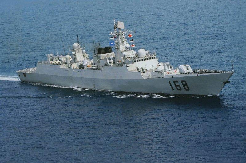 廣州號(舷號168)驅逐艦。