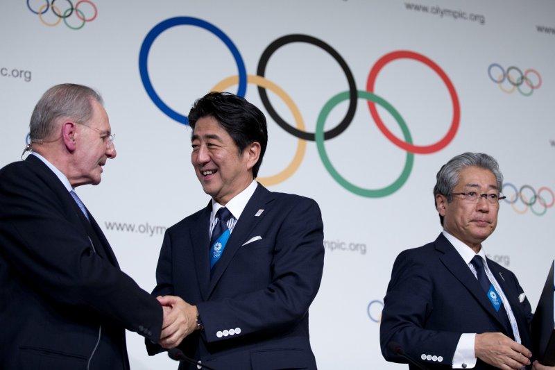 東京獲得2020年夏季奧運主辦權。(美聯社)