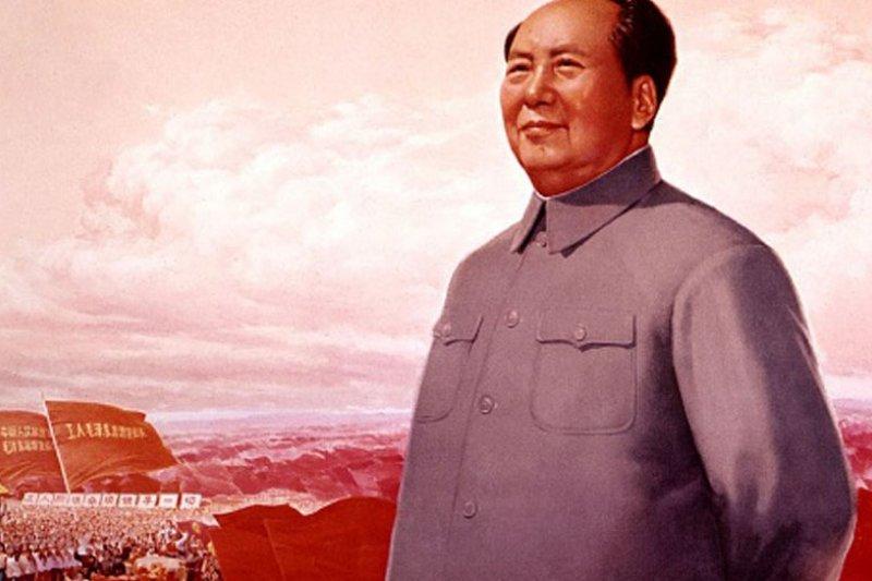 中國前領導人毛澤東在1966年發動文化大革命。(取自推特)