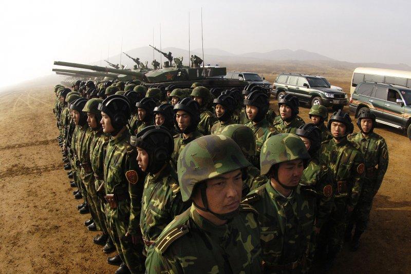 解放軍的裝甲部隊。(維基百科)