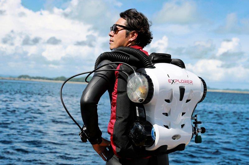 水下攝影家Yorko Summer。(圖/Yorko Summer提供)