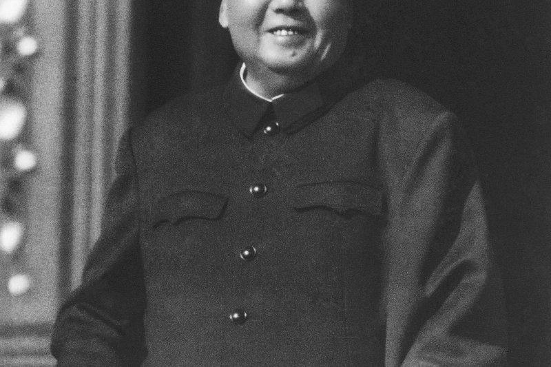 毛澤東逝世43周年(美聯社)