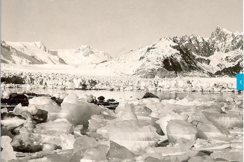 阿拉斯加的冰河地形曾十分發達,如今卻⋯⋯(圖/NASA)