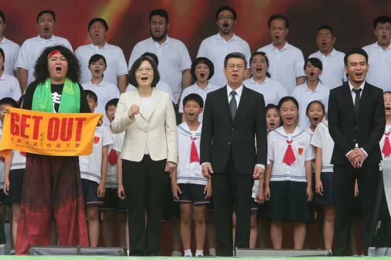 001-蔡英文就職典禮-台北市攝影記者聯誼會提供