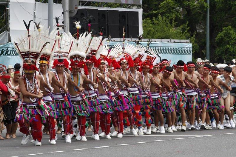 018-總統就職典禮-原住民族-台北市攝影記者聯誼會提供