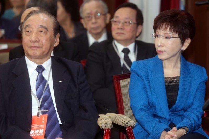 國民黨洪秀柱出席520就職典禮,對於國民黨如何再起,或許心中難免百味雜陳。(台北市攝影記者聯誼會提供)