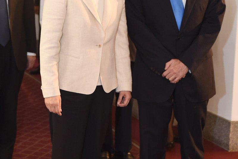 前總統馬英九15日擬訪港發表演說,對此,內政部長葉俊榮表示,依法須經過原服務機關、也就是總統府同意。(資料照,美聯社)