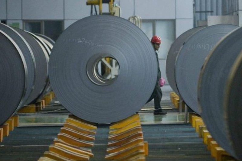 歐美鋼鐵產業者認為中國通過傾銷過剩鋼鐵產品扭曲市場秩序。(BBC中文網)