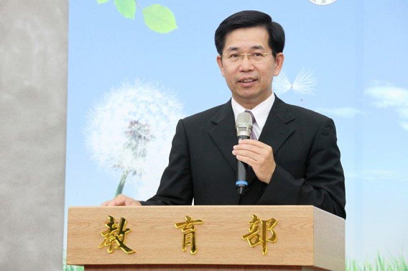 教育部長潘文忠21日舉行上任後第一次記者會。(教育部)