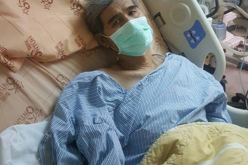 與血癌搏鬥的台灣體壇傳奇人物古金水(臉書)