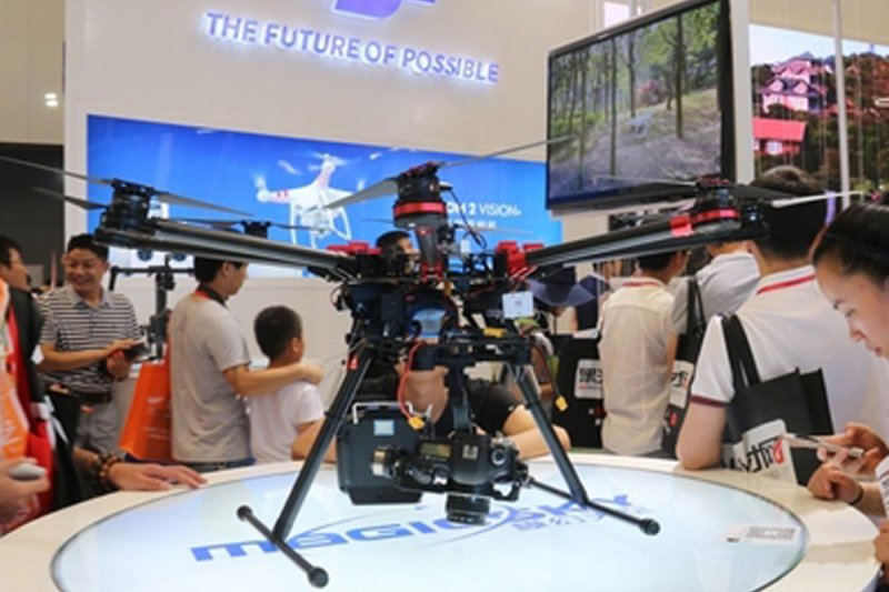 大疆科技──無人機(取自網路)