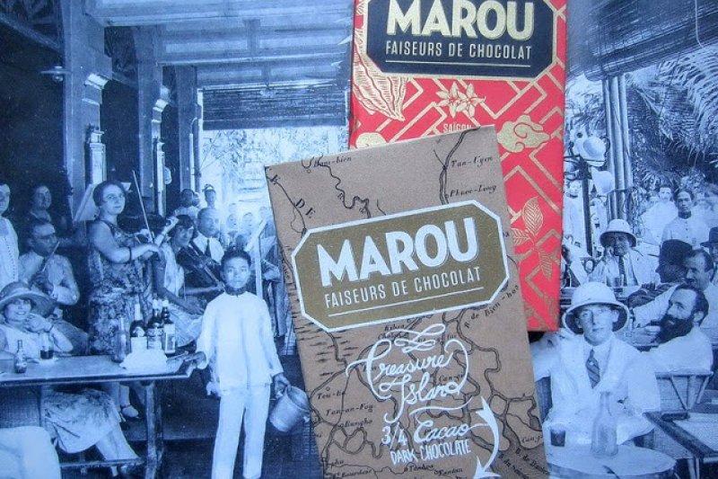 來自越南的頂級巧克力:Marou Chocolate。(圖/洪德青)