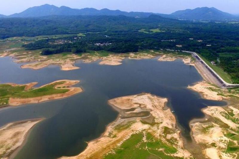 海南島近來嚴重乾旱,已有70座水庫面臨乾涸。