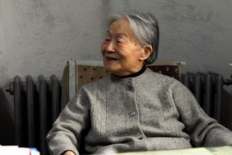 楊絳老人102歲留影。(視頻中國)