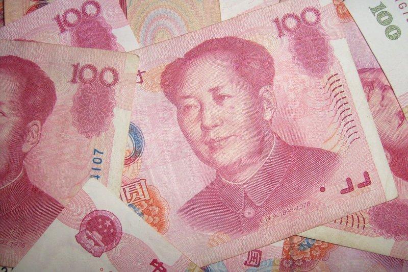 貿易戰、去槓桿陰霾籠罩下,人民幣匯率持續走貶,對美元匯率今(3)日早盤跌破6.7整數關卡(資料照,圖片來源:Creative Common)