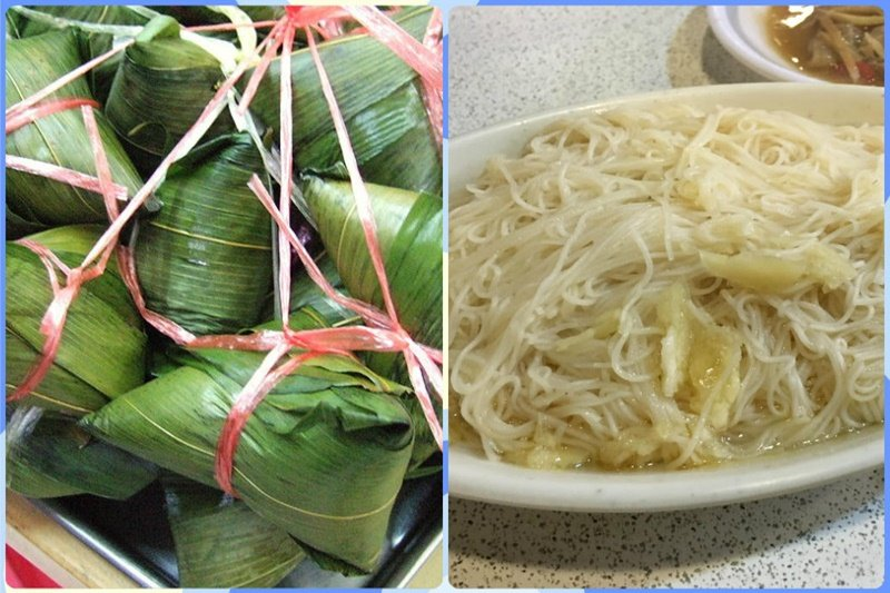 在彰化沿海一帶,送肉粽和吃麵線的習俗你知道嗎?