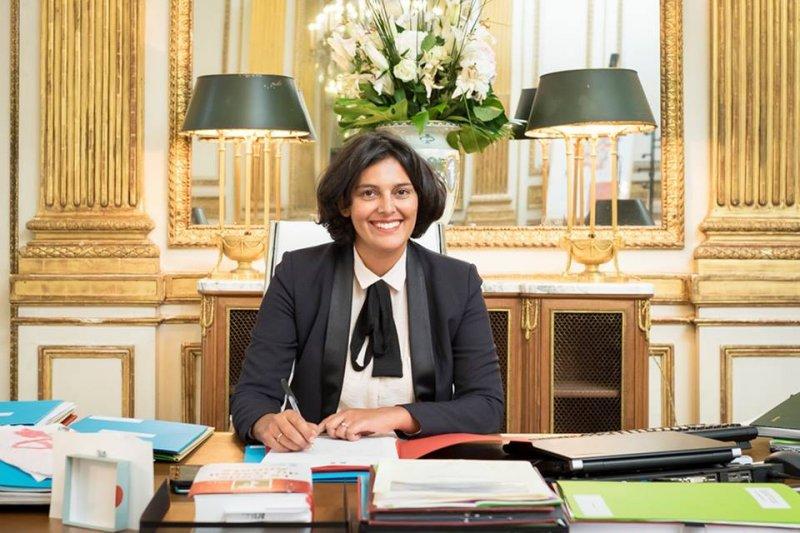 法國出現了首次女性部長比男性部長人還多的狀況,其中37歲的米莉雅姆‧埃爾-庫姆裡(Myriam El Khomri)被任命為法國勞動、就業和社會對話部長。(圖/Myriam El Khomri@facebook)