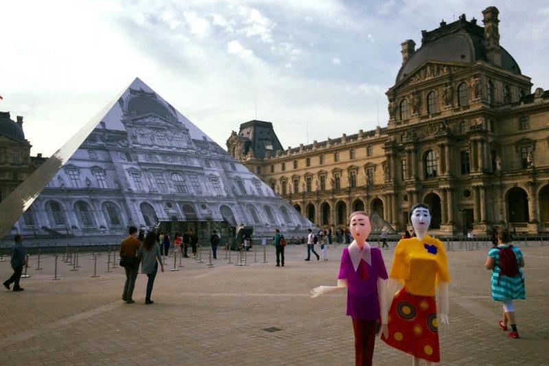 充滿現代感的新紙紮藝術兼蓄傳統與流行,被法國藝術家邀往參展(圖/新興糊紙店-紙紮工藝美學FB)