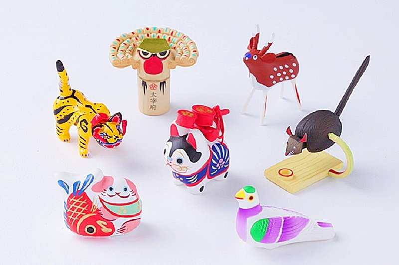 日本鄉土味玩具可愛有趣!(圖/fashion-press)