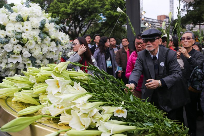 二二八是台灣難以抹去的傷痕。(取自馬英九臉書)
