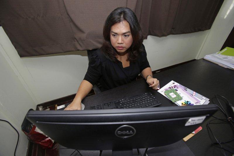 泰國跨性別者傑沙達。(美聯社)