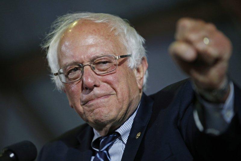 桑德斯(Bernie Sanders)(美聯社)