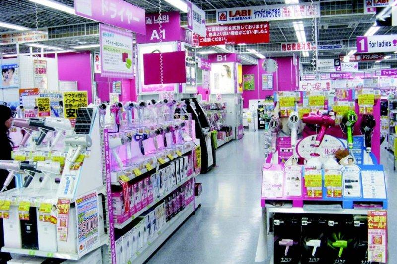 這幾年來,日本的美容賣場規模愈來愈大了。(圖/貓頭鷹出版提供)