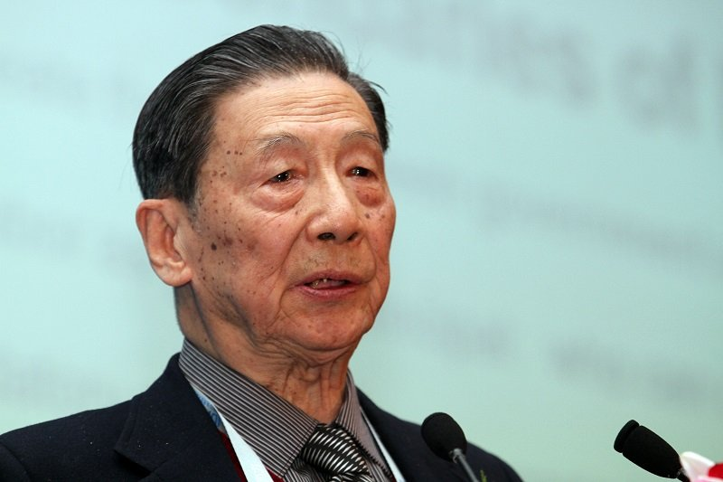 中國經濟學者茅于軾。