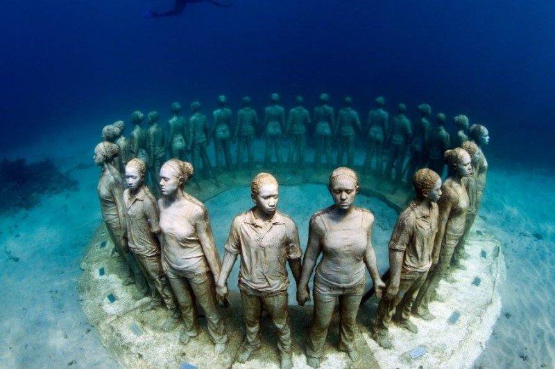 歐洲第一間海底博物館—「大西洋博物館」自今年二月開幕!(圖/Museo Atlantico@facebook)