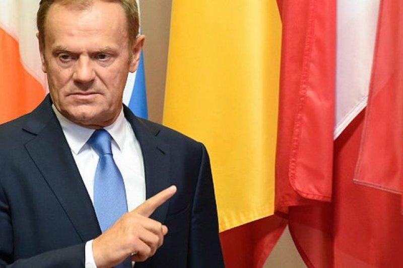 圖斯克表示,歐盟有希望在英國脫歐後存在下去,但代價高昂。(BBC中文網)