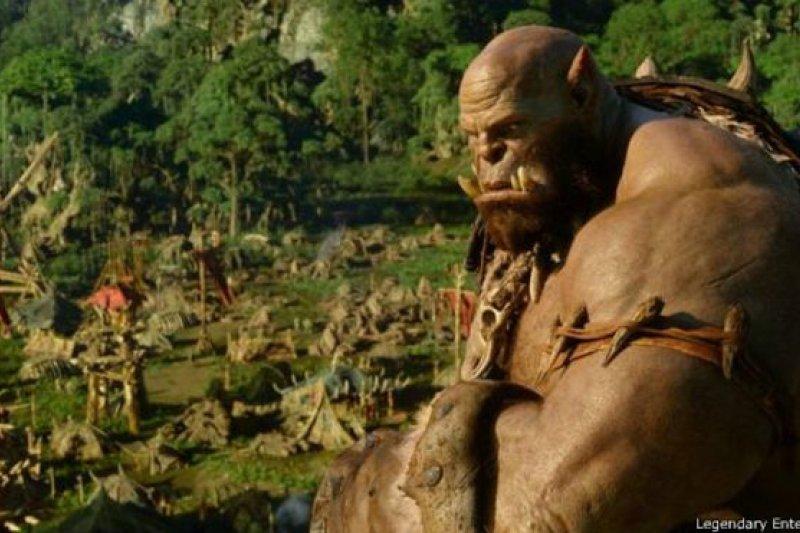 《魔獸世界》電影在中國的票房遠比北美票房高。(BBC中文網)