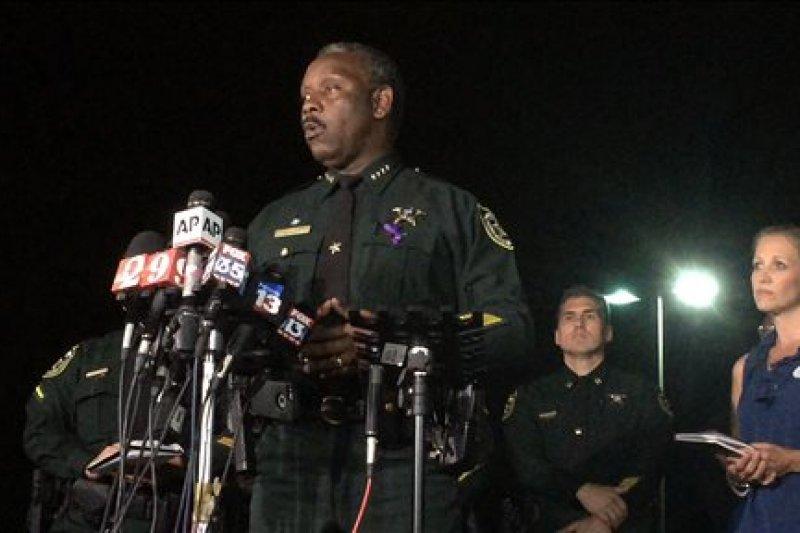 佛羅里達州橘郡警長迪明斯(Jerry Demings)。(美聯社)