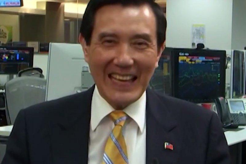 前總統馬英九SOPA演說。(取自Youtube)