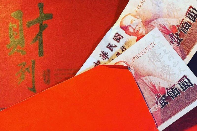 平常代表喜氣的紅包袋卻讓日本網友嚇得要死。(圖/Jessie.yang@flickr)