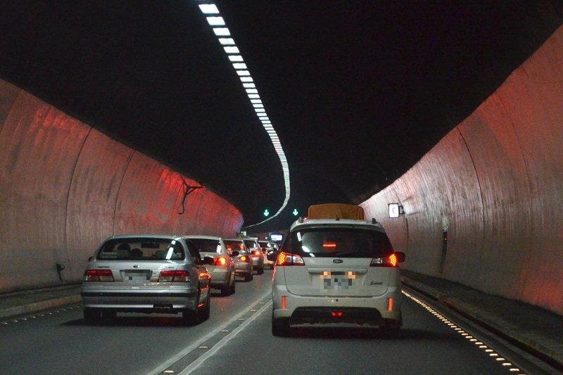 雪山隧道-雪隧配圖。(資料照,陳明仁攝)