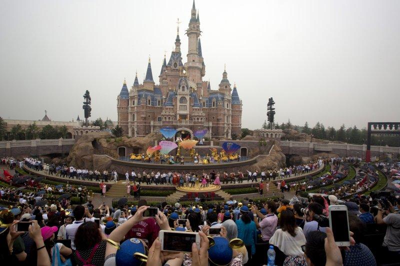 上海迪士尼樂園(美聯社)