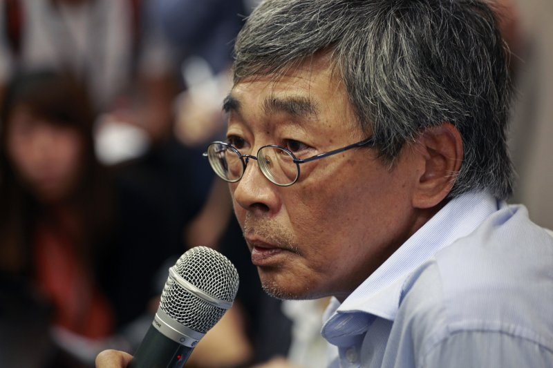 林榮基指出,經過這次事件一國兩制已被破壞,港獨才是香港的最佳出路。(資料照,美聯社)