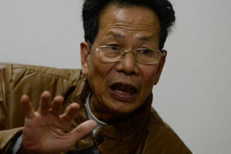 林祖戀在烏坎村事件後連任兩屆村黨支部書記和村主任。(BBC中文網)