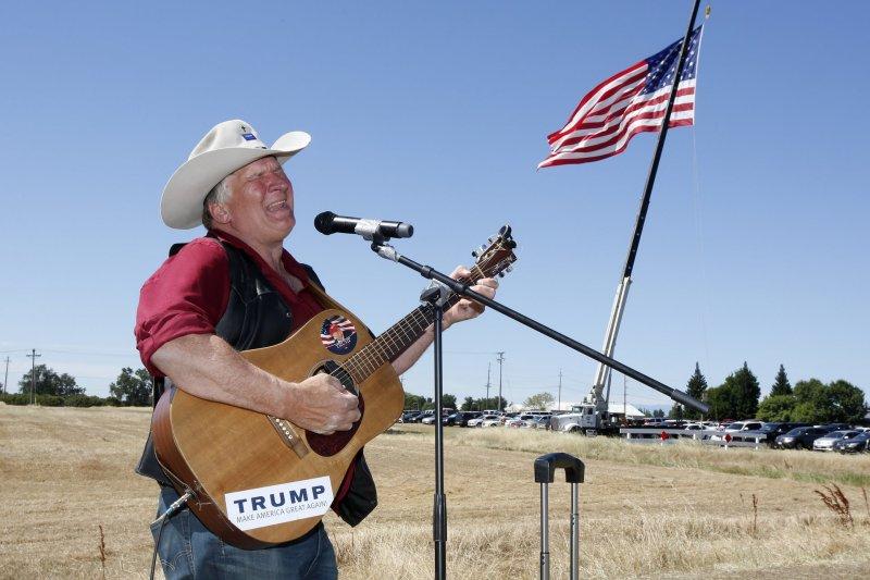 川普支持者克雷格・莫斯(Kraig Moss)。