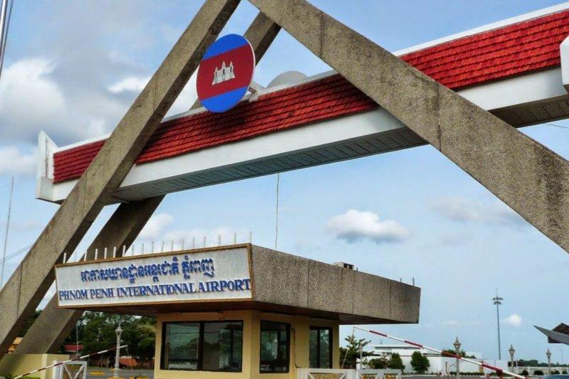 柬埔寨逮捕12名台籍詐欺嫌犯,當局表示將遣送大陸。圖為柬埔寨金邊國際機場(取自google map)