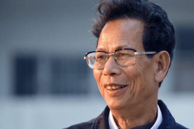 陸豐檢方發佈通報稱,烏坎村黨總支書記、村委會主任林祖戀「涉嫌受賄」。(BBC中文網)