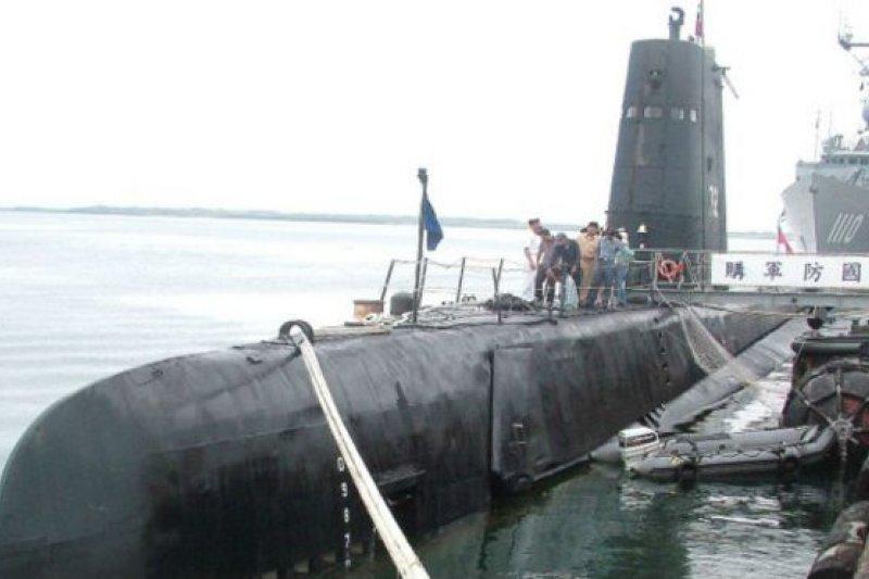 台灣茄比級潛艦是世界現在服役潛艇中的老前輩,從下水服役到現在已經七十多年。(BBC中文網)
